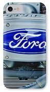 Ford Engine Emblem IPhone Case