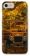 Ford IPhone Case by Jack Zulli
