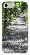 Forest Path IPhone Case by Dobromir Dobrinov