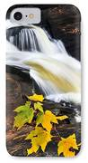Forest River In The Fall IPhone Case by Elena Elisseeva