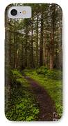 Forest Serenity Path IPhone Case by Mike Reid