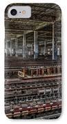 Forgotten Silk Mill IPhone Case by Susan Candelario