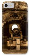 Fort Sumter Famous Cannon IPhone Case by Optical Playground By MP Ray