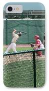 Foul Ball 3 Panel Composite IPhone Case