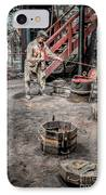 Foundry Worker IPhone Case