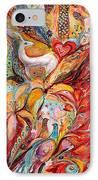 Four Elements Fire IPhone Case by Elena Kotliarker
