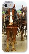 Four Horse Power IPhone Case by B Wayne Mullins
