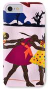 Four Little Girls IPhone Case by Ruth Yvonne Ash