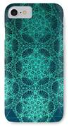 Fractal Interference IPhone Case by Jason Padgett