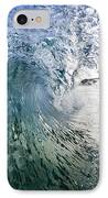 Fractured Tube. IPhone Case by Sean Davey