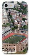 Franklin Field University City Pennsylvania IPhone Case by Bill Cobb