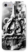French Iron IPhone Case by Perry Webster
