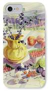 French Table IPhone Case by Elizabeth Jane Lloyd