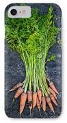 Fresh Carrots From Garden IPhone Case by Elena Elisseeva