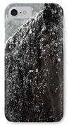 Friesian Snow IPhone Case by Fran J Scott