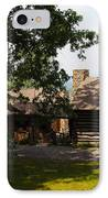 Front View Of The Cabin IPhone Case by Robert Margetts