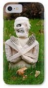 Front Yard Halloween Graveyard IPhone Case