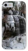 Frozen Buttermilk Falls IPhone Case by Anthony Thomas