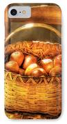 Fruit - Fresh Peaches  IPhone Case by Mike Savad