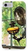 Furniture - Lamp - An Oil Lantern IPhone Case by Mike Savad