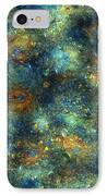 Galaxies  IPhone Case by Betsy Knapp