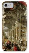 Gallery With Views Of Modern Rome IPhone Case