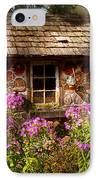 Garden - Belvidere Nj - My Little Cottage IPhone Case by Mike Savad