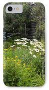 Garden Cottage IPhone Case by Bill Wakeley