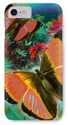 Garden Day IPhone Case by Alixandra Mullins