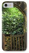 Garden Gate In Sarlat IPhone Case by Elena Elisseeva