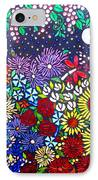 Garden Of Evening IPhone Case by Lisa Anderson