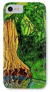 Garden Of Intent Eden For Pandemonium IPhone Case by D Renee Wilson