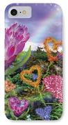 Garden Of Love 2 IPhone Case by Alixandra Mullins