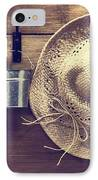 Garden Shed IPhone Case by Amanda Elwell