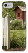 Garden's Entrance IPhone Case by Margie Hurwich
