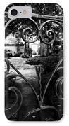 Gated Heart IPhone Case by Kelly Hazel