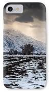 Gathering Winter Storm - Utah Valley IPhone Case