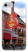 Gatlinburg Hard Rock Cafe IPhone Case