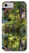 Gazebo Retreat IPhone Case by John Greim