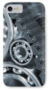 Gears And Cogs Titanium And Steel Power IPhone Case