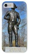 General Von Steuben IPhone Case by Olivier Le Queinec