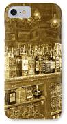 Genoa Bar Oldest Saloon In Nevada's Old West History IPhone Case by Artist and Photographer Laura Wrede