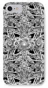 Geo Tech Alpha One IPhone Case by Pixel Chemist