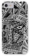 Geometric Doodle IPhone Case