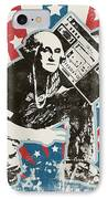 George Washington - Boombox IPhone Case