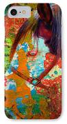 Ghost Horse IPhone Case by Skip Hunt