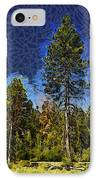 Giant Abstract Tree IPhone Case