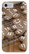 Gingerbread Man Cookies IPhone Case