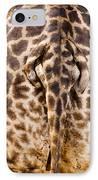 Giraffe Butt IPhone Case by Adam Romanowicz