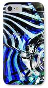 Glass Abstract 132 IPhone Case by Sarah Loft